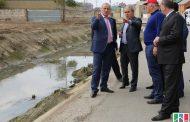 Рамазан Алиев ознакомился с ходом очистки Канала Октябрьской революции
