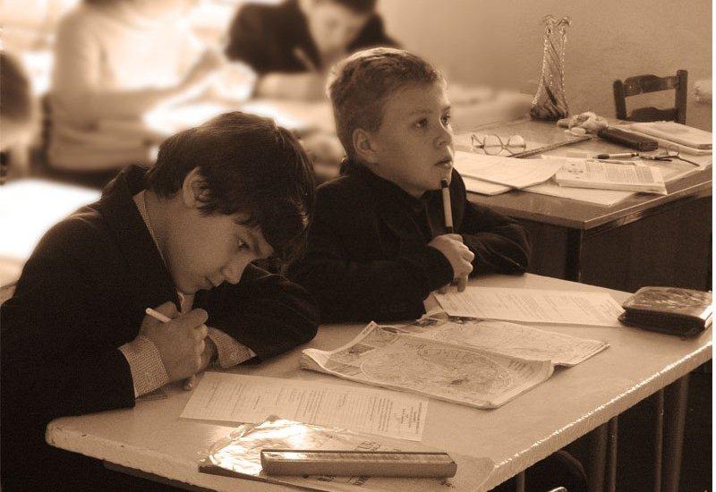 Учат в школе. В школе учат?