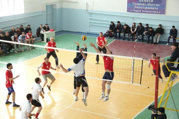I-й Республиканский турнир по волейболу памяти А. Гаджиева