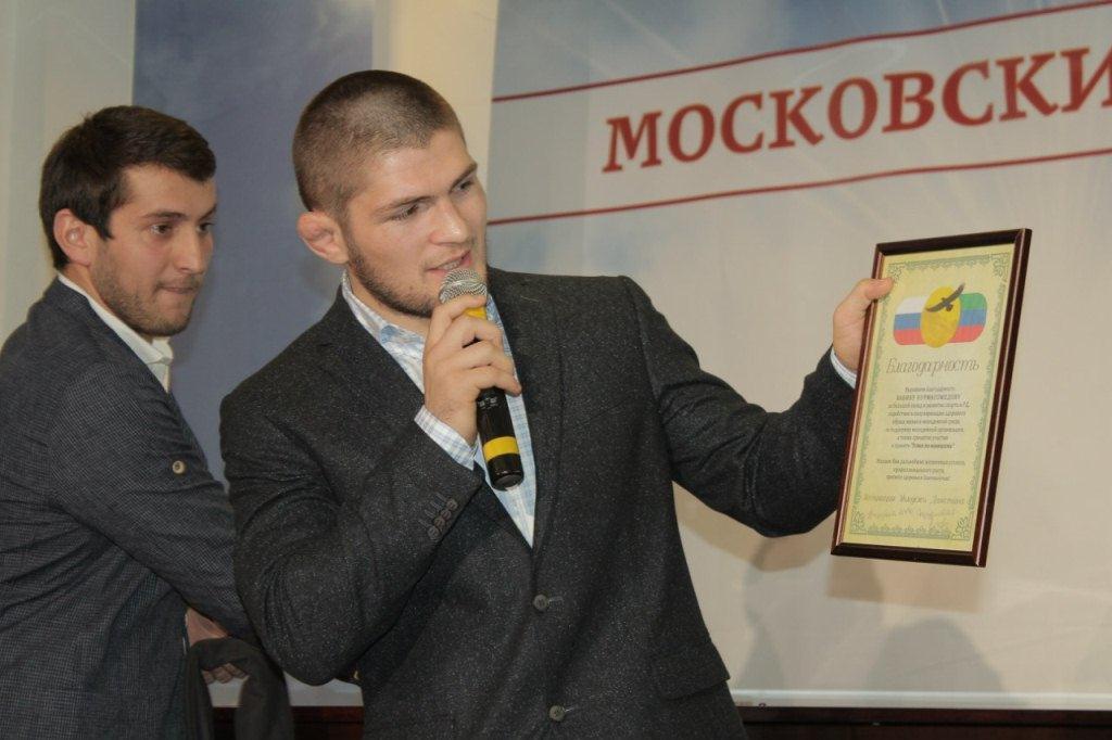 Хабиб Нурмагомедов: «Мои стероиды - это хинкал»