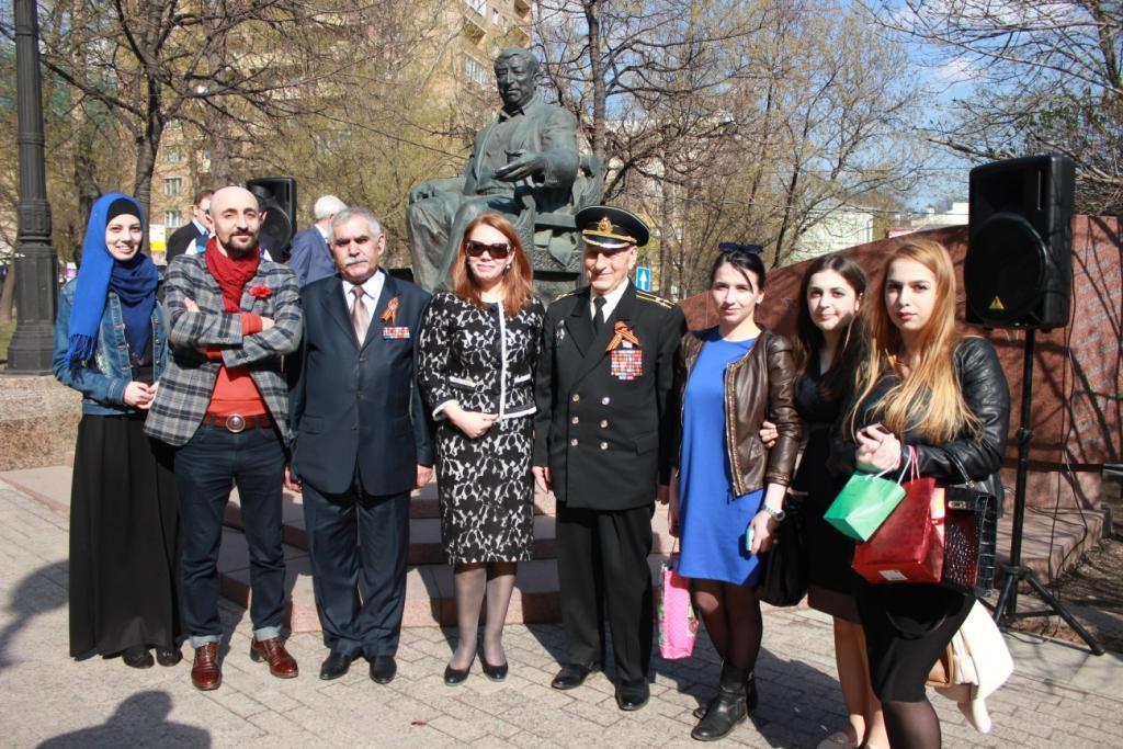 Аллея дагестанских Героев
