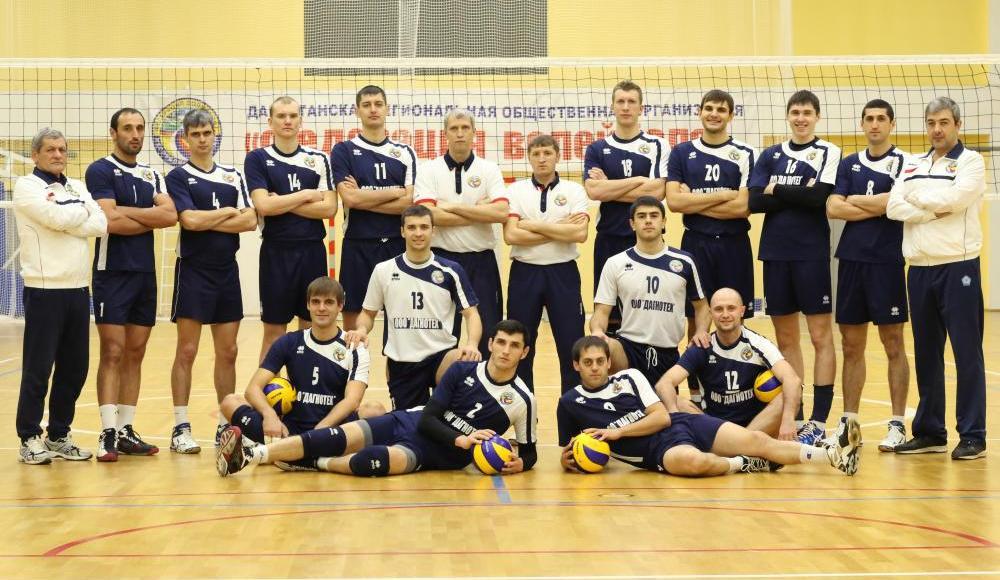 Волейбольный «Дагестан» В высшей лиге «А»