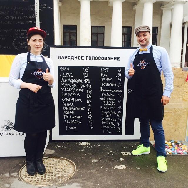 Городской маркет еды: открывая новые вкусы