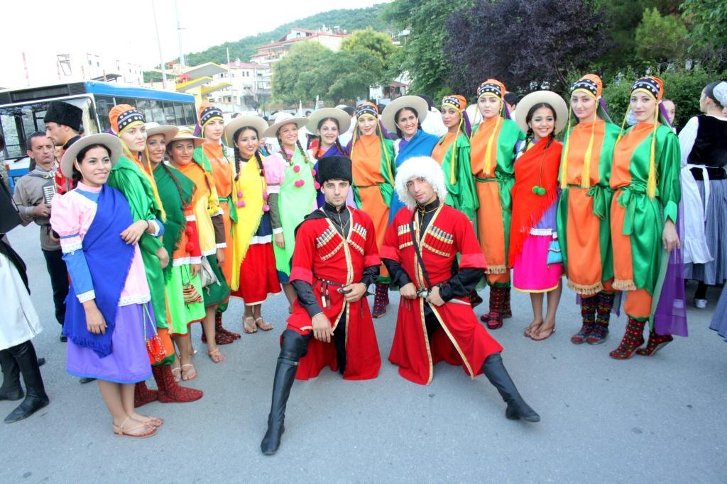 Ансамбль «Леваши» покорил греческих зрителей