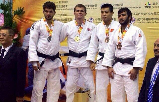 Мансур Исаев и Тагир Хайбулаев - призеры турнира в Тайване