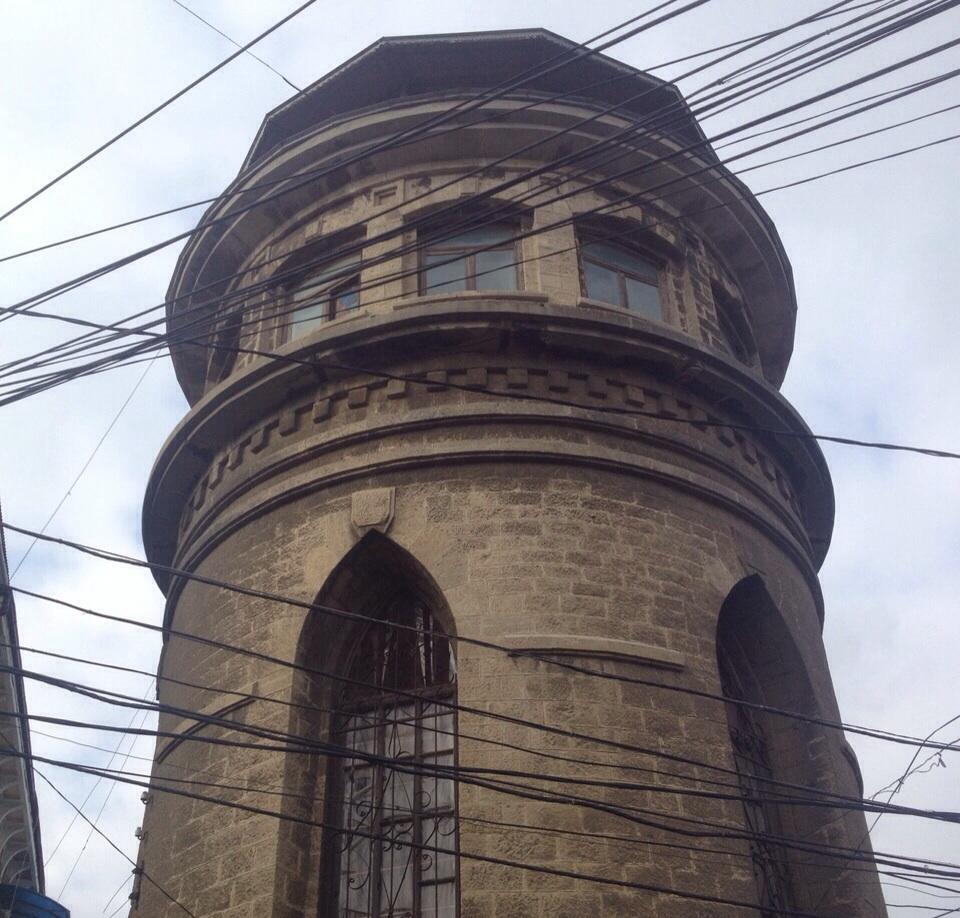 История старой водонапорной башни