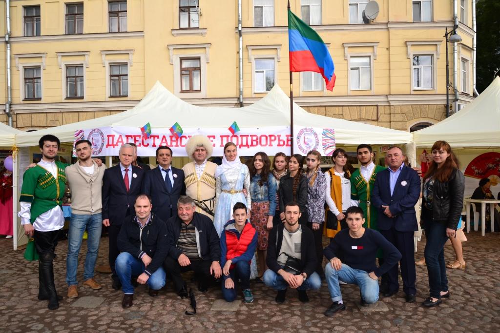 Дагестанцы приняли участие во  Втором  этнокультурном фестивале в Ленинградской области