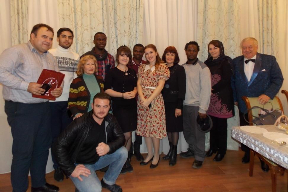 На гастролях в Астрахани