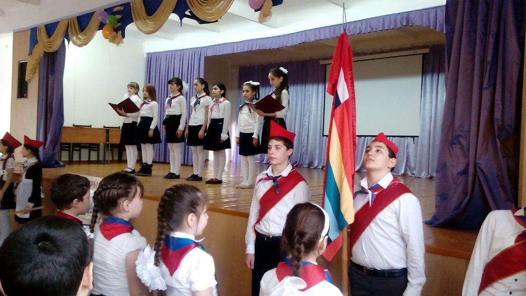 Детская организация «Юные пушкинцы» Кизляра признана одной из лучших в республике