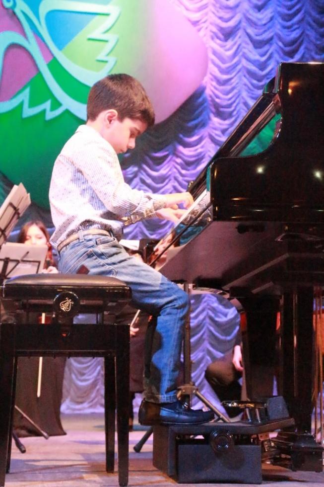 Юные музыканты Дагестана