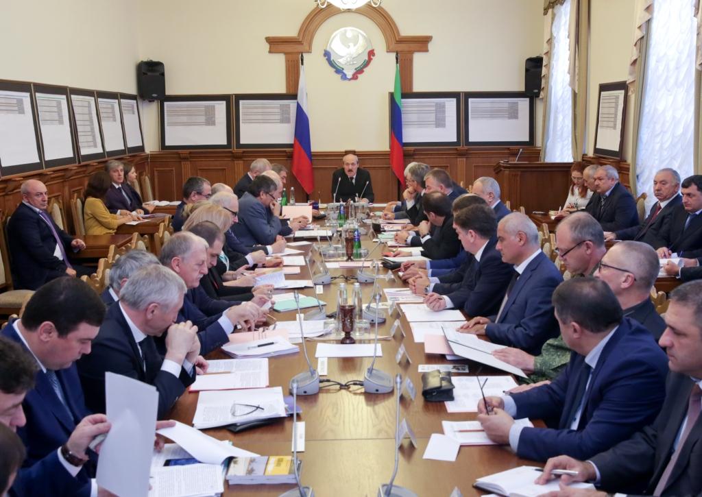 В Махачкале состоялось заседание Антитеррористической комиссии в РД