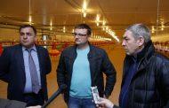 АбдусамадГамидов посетил строящуюся птицефаб¬рику в Магарамкентском районе