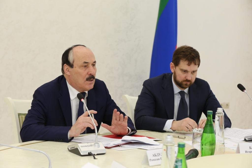 С участием Игоря Баринова в Махачкале обсуждены задачи профилактической работы с семьями членов НВФ