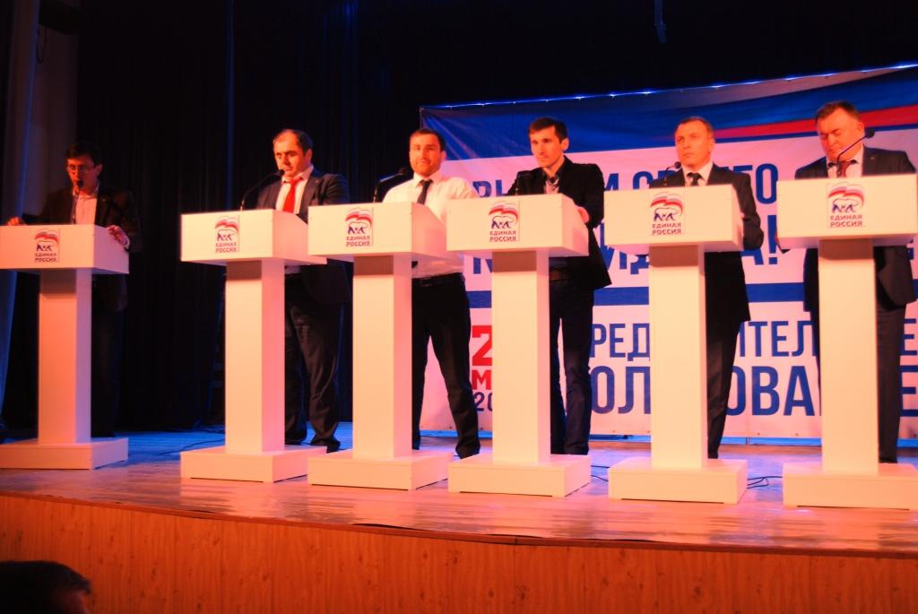 В г. Хасавюрте состоялись очередные дебаты «ЕДИНОЙ РОССИИ»