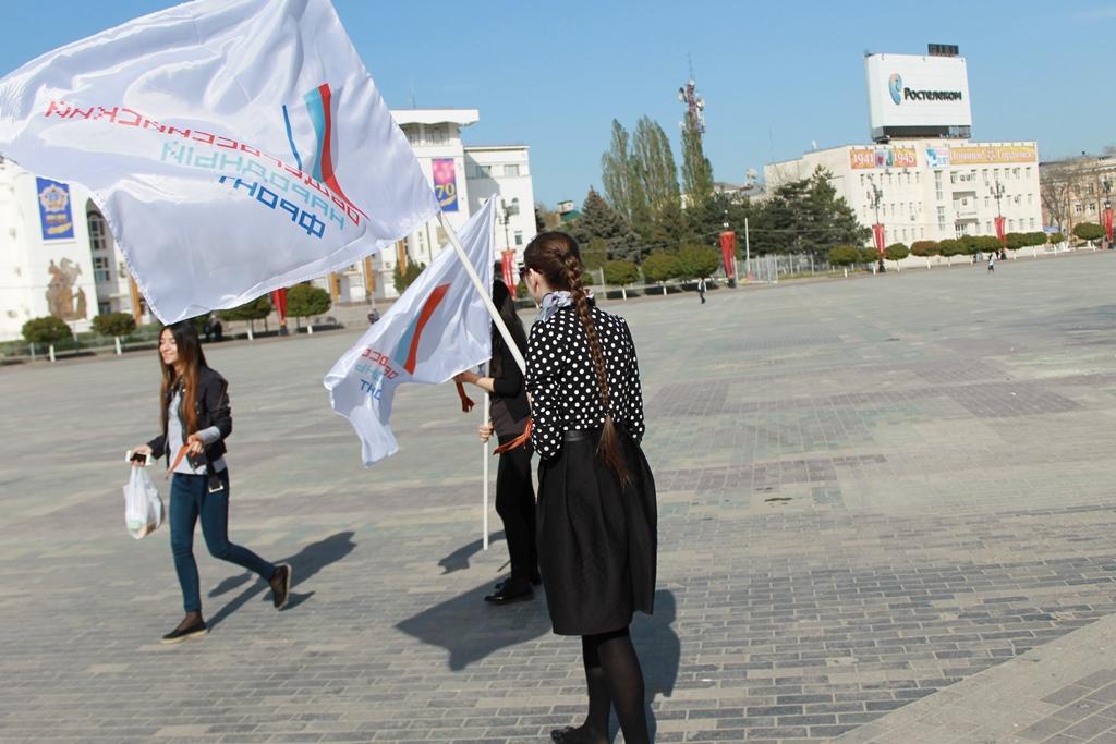 В Дагестане ОНФ дал старт патриотической акции «Георгиевская ленточка»
