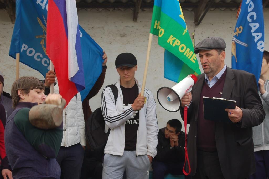 День призывника торжественно отметили в Кизилюрте