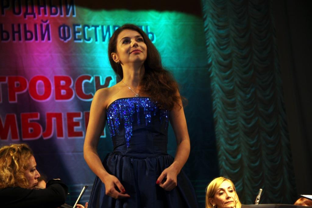 Концерт Людмилы Велинской. Фестиваль Порт-Петровские Ассамблеи.