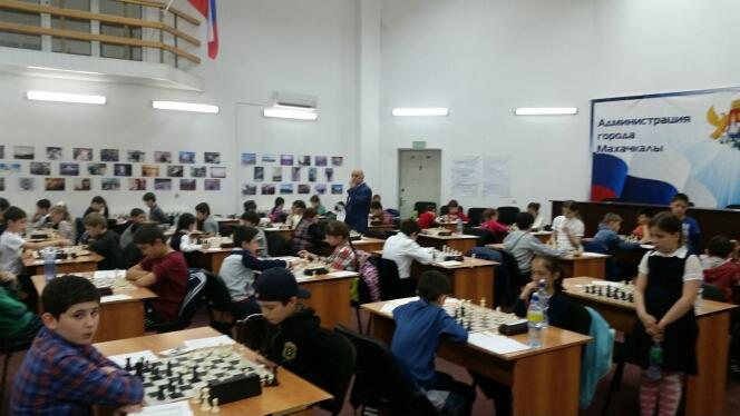 Состоялся 1-й этап детского Кубка РД по шахматам