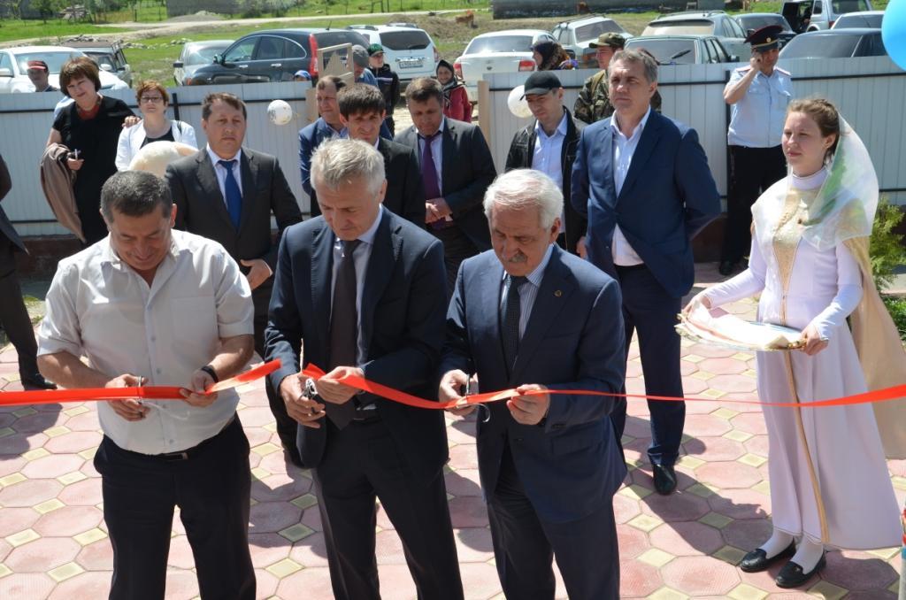 Детский сад на 50 мест открылся в с. Ретлоб ГКУ ЦОДОУ ЗОЖ