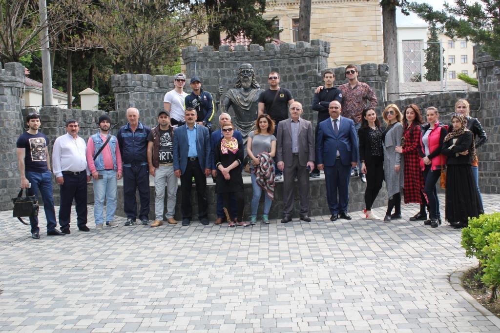 В гостях у азербайджанских друзей