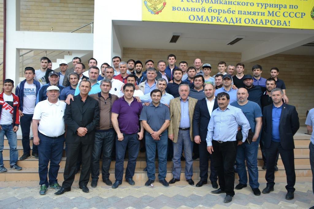 В Акушинском районе прошёл Республиканский турнир по вольной борьбе памяти Омаркади Омарова