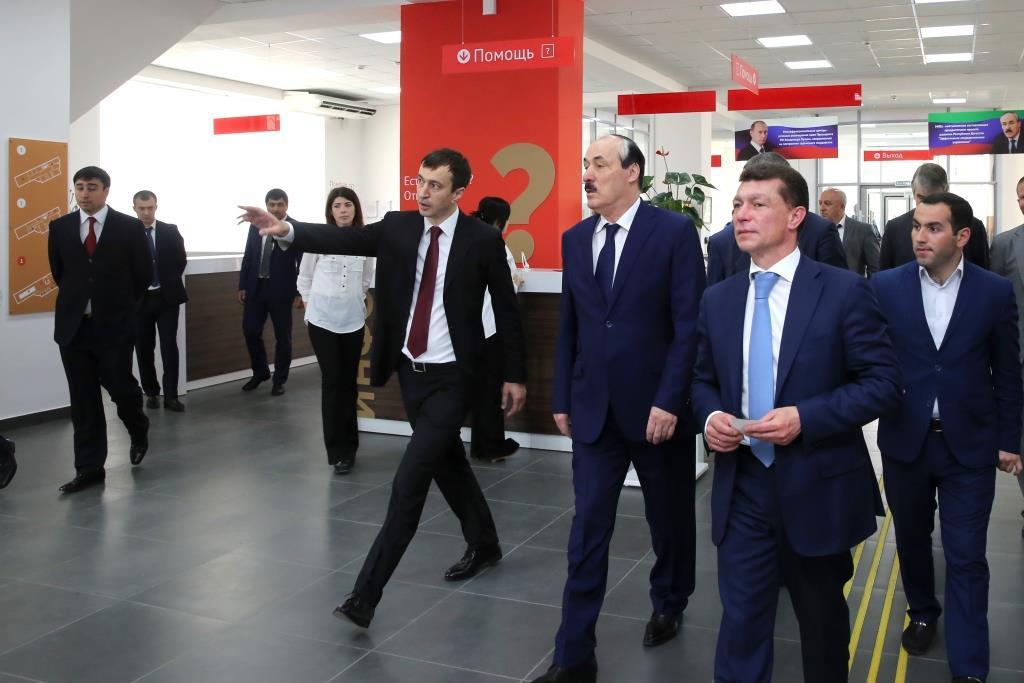 Максим Топилин в рамках визита в Дагестан посетил ряд социально значимых объектов