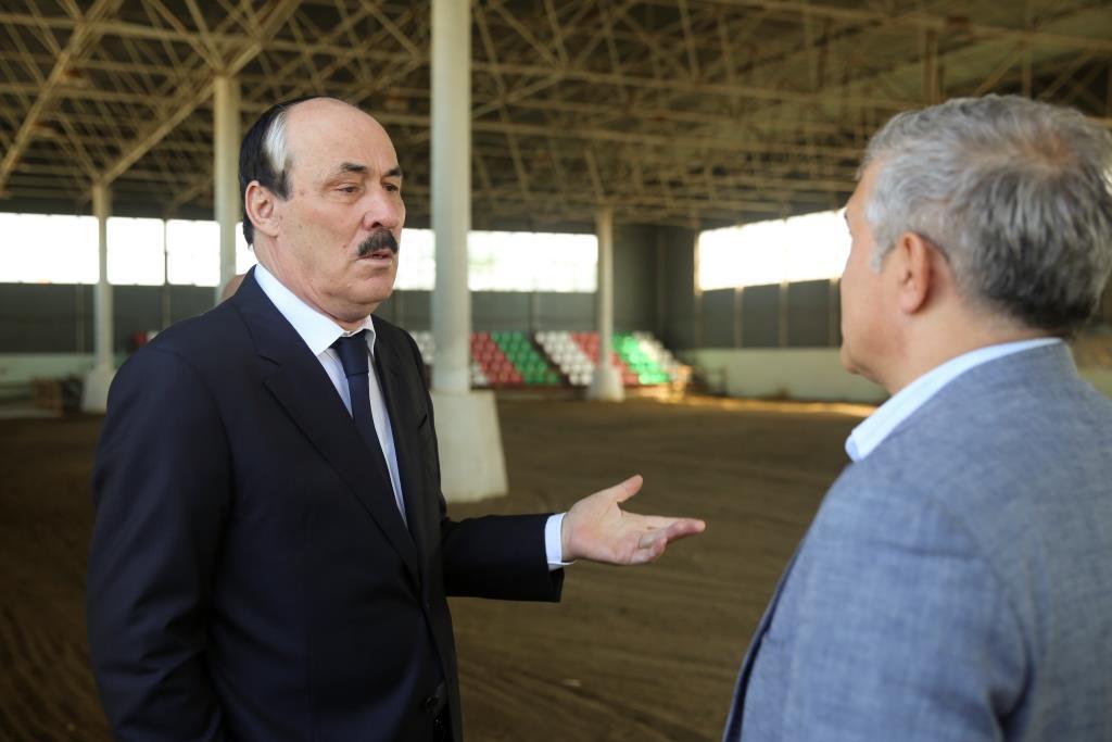 Рамазан Абдулатипов: «Конно-спортивная школа «Джигит» необходима детям»