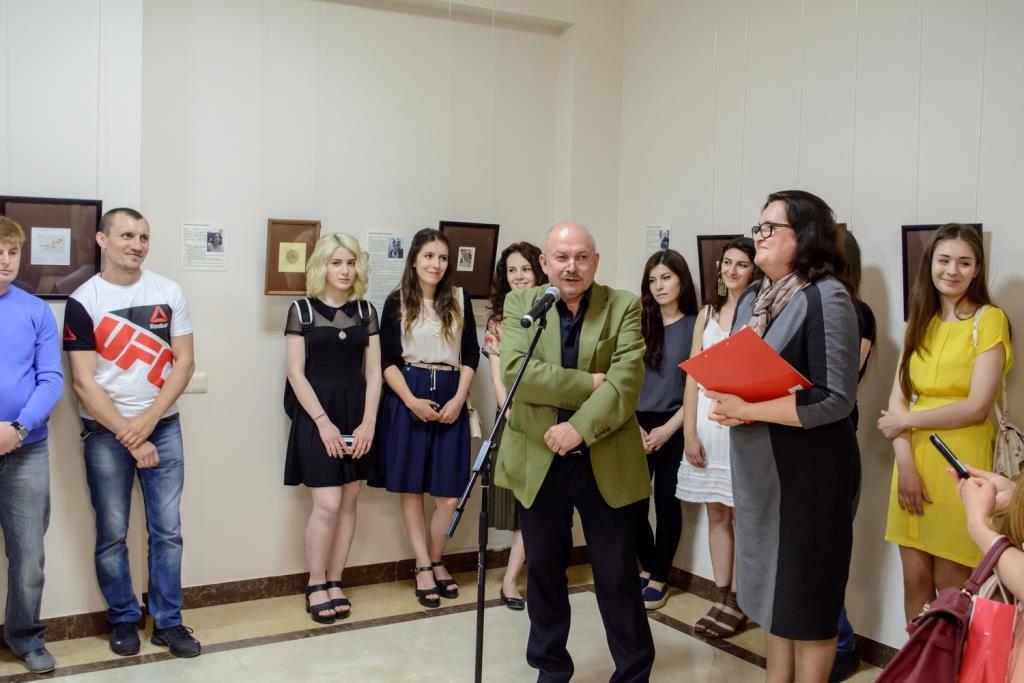Выставка молодых художников-графиков Дагестана «Экслибриc»