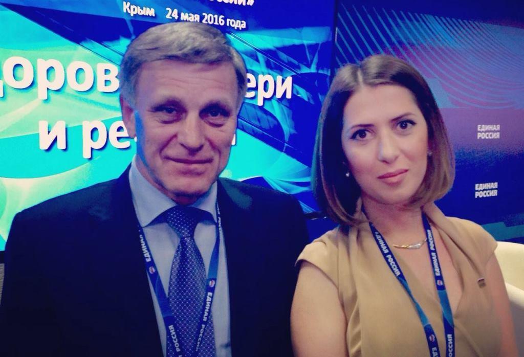В Крыму прошел форум «Здоровье людей - основа успешного развития России» Партии «Единая Россия»