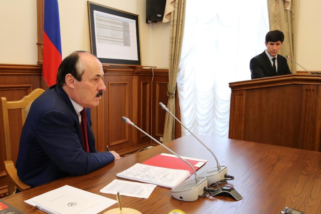 Рамазан Абдулатипов: «Мы должны максимально обеспечить легитимность и авторитет нашей власти на предстоящих выборах»