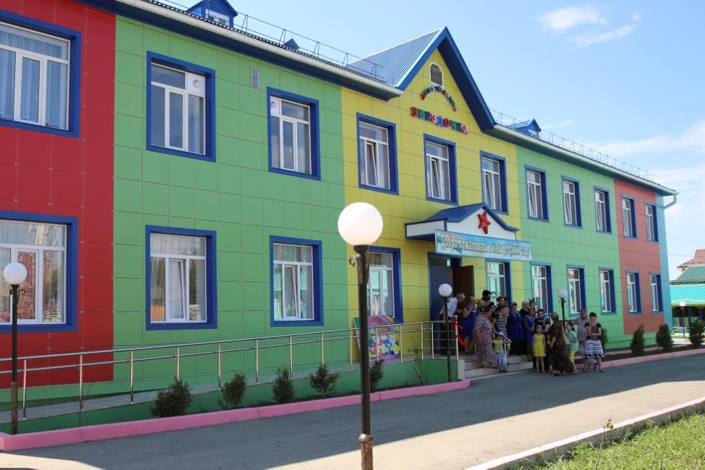 Глава Дагестана открыл новый детский сад на 120 мест в городе Хасавюрте