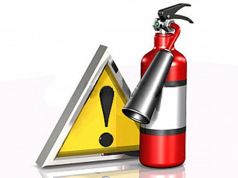 Обучили требованиям пожарной безопасност