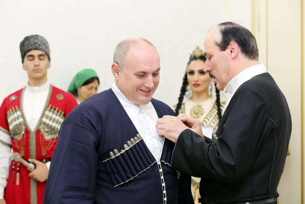 Муса Мусаев награжден орденом «За заслуги перед Республикой Дагестан»