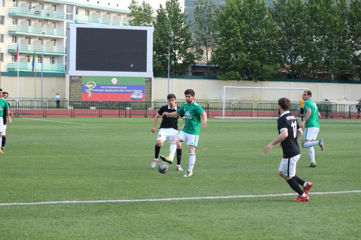 Возобновился чемпионат Дагестана по футболу