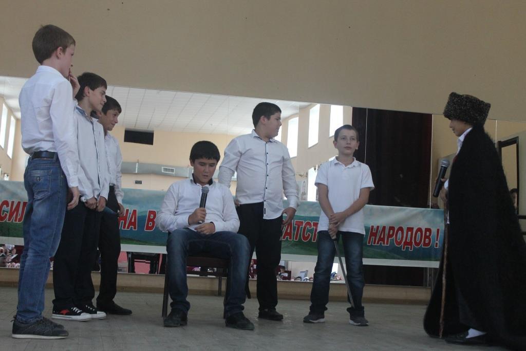 В Гергебельском районе отметили День единства народов Дагестана