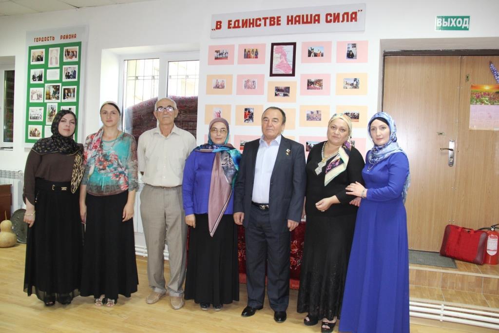 В музее Гергебильского района прошли мероприятия, приуроченные ко Дню единства народов Дагестана
