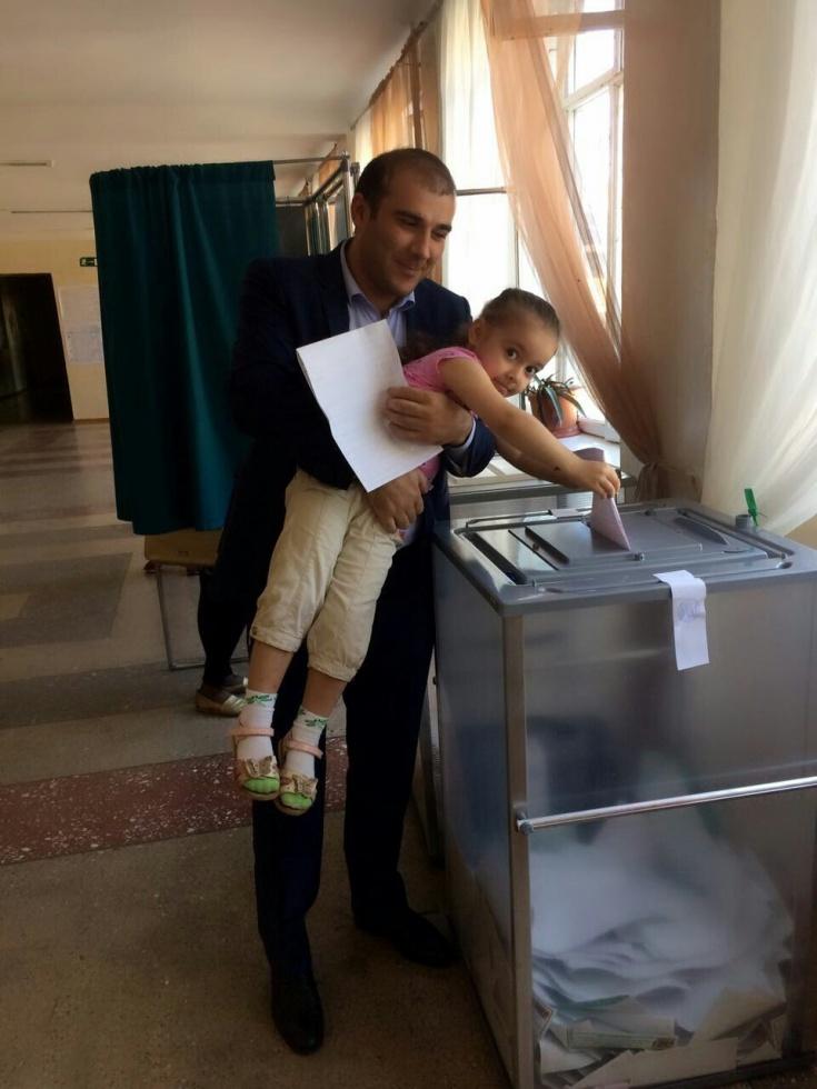 Проголосовал Магомед Мусаев