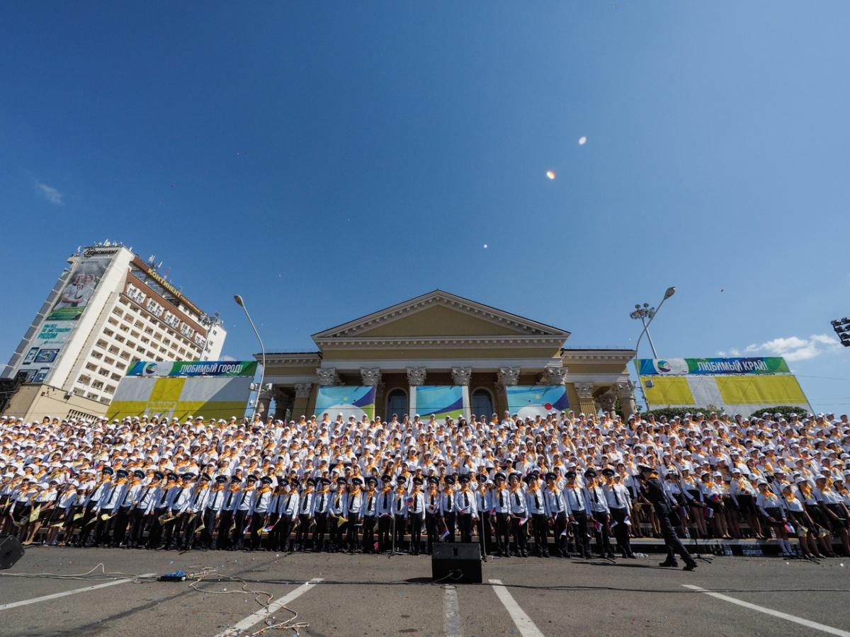 Детский карнавал в Ставрополье