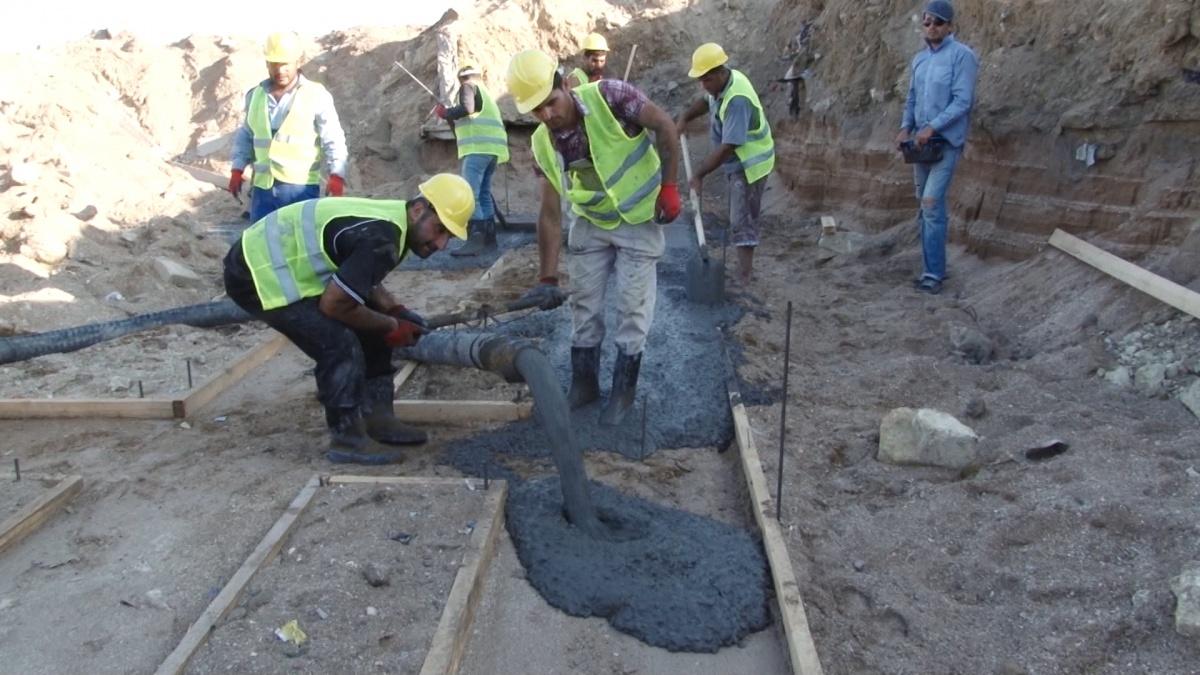 Строительство набережной идет активными темпами