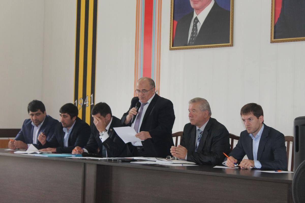 В Гергебильском районе прошло выездное совещание раборчей группы мобильного проектного офиса