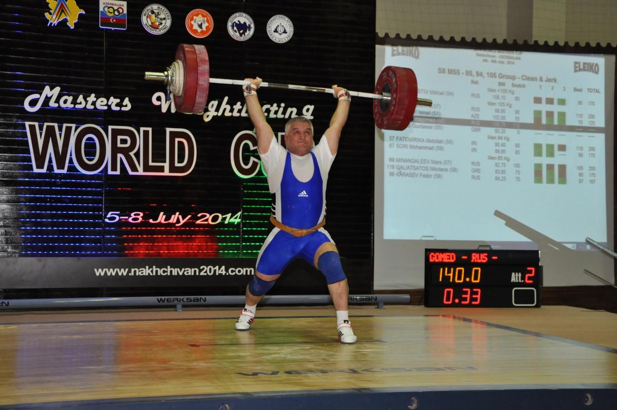 Алимагомед Изиев стал абсолютным чемпионом мира