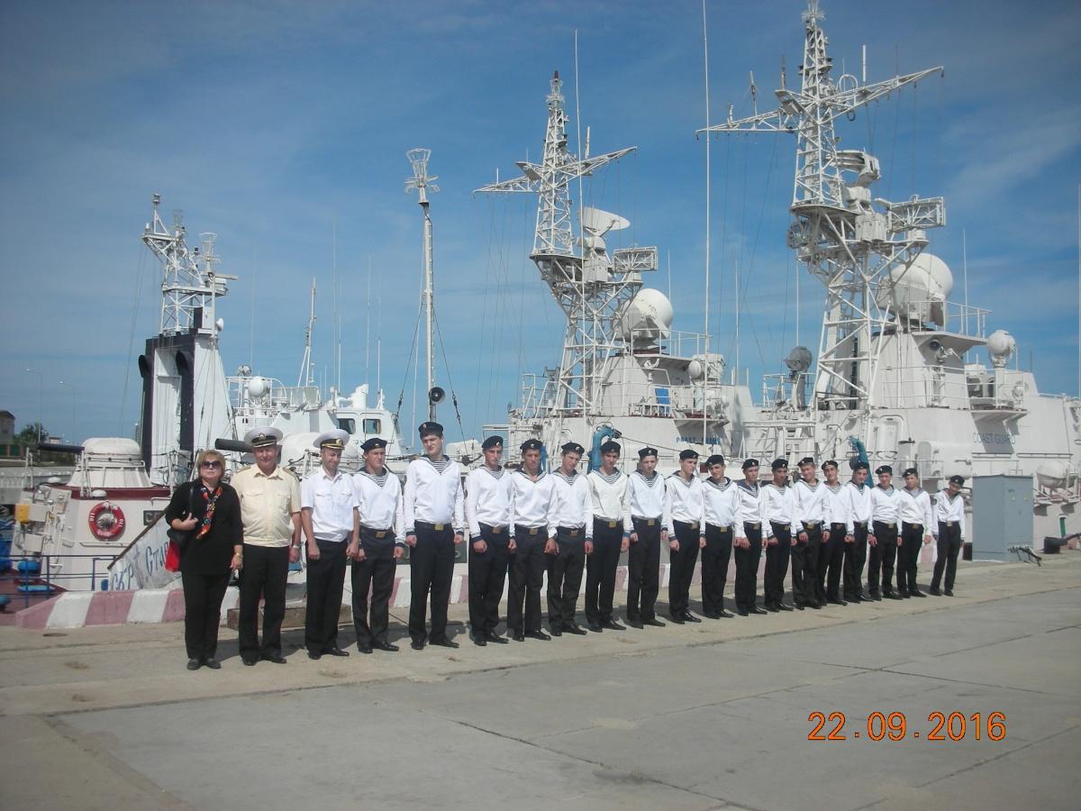 Кадеты  в гостях у морских пограничников