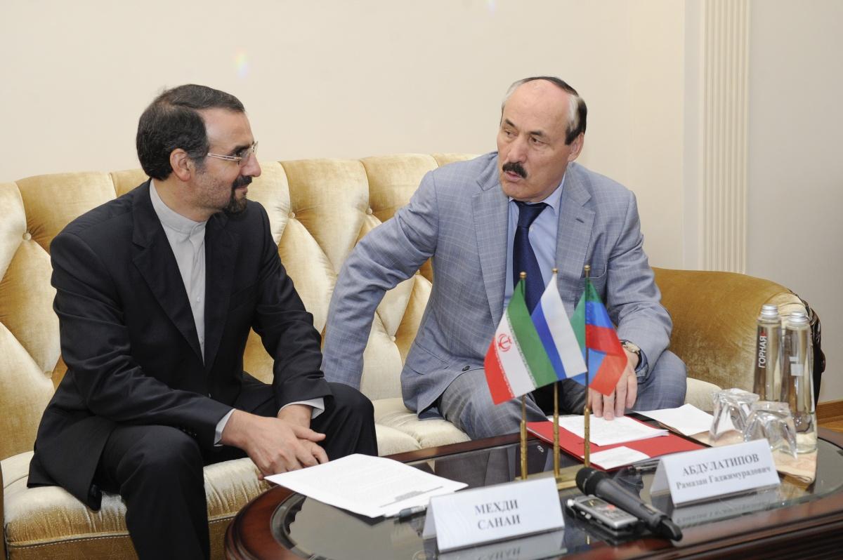 Состоялась официальная встреча Рамазана Абдулатипова и Мехди Санаи