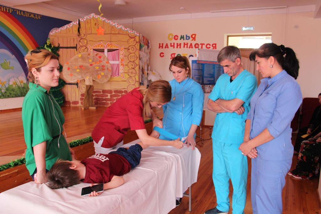 Детские реабилитационные центры республики осваивают новые методы профилактики нарушений опорно-двигательного аппарата