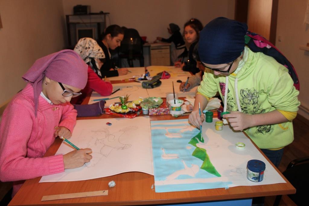В Гергебильском районе провели конкурс рисунков