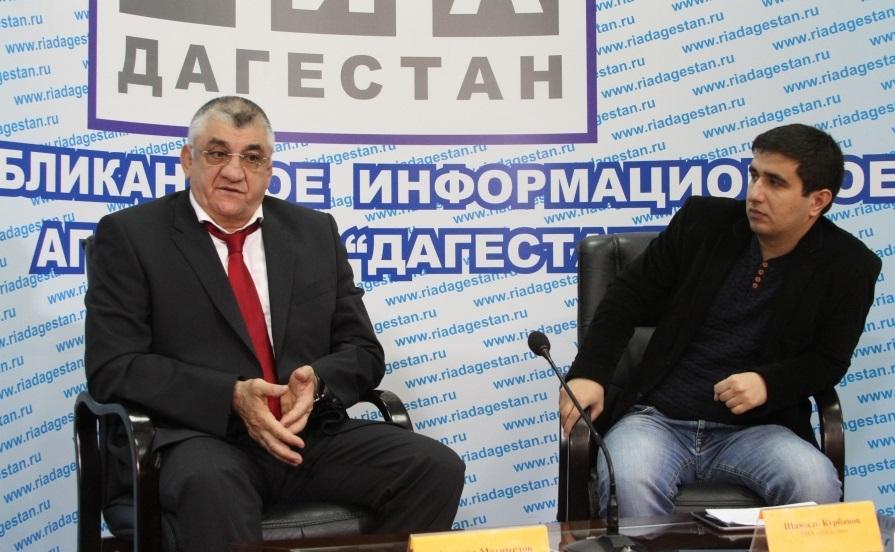 Министр спорта РД дал пресс-конференцию