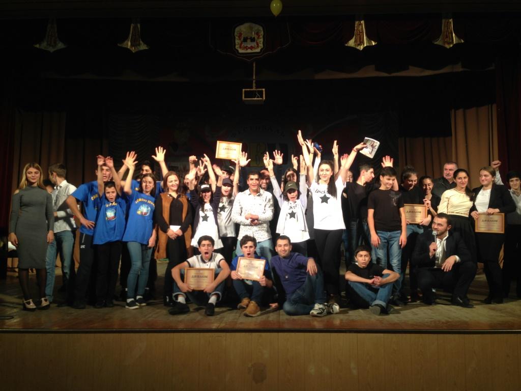 Школьная лига КВН в Дербенте