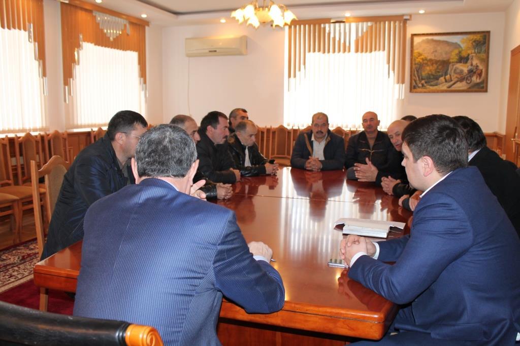 В Гергебильском районе обсудили вопросы подготовки дорог к зимнему сезону