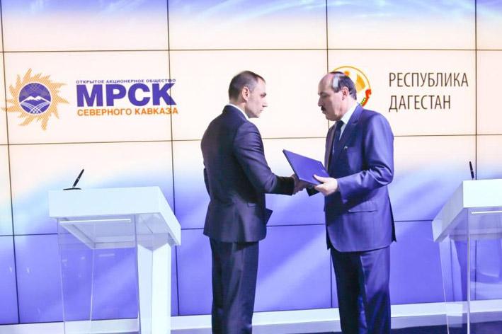 Рамазан Абдулатипов и Юрий Зайцев обсудили вопросы развития электросетевого комплекса Дагестана