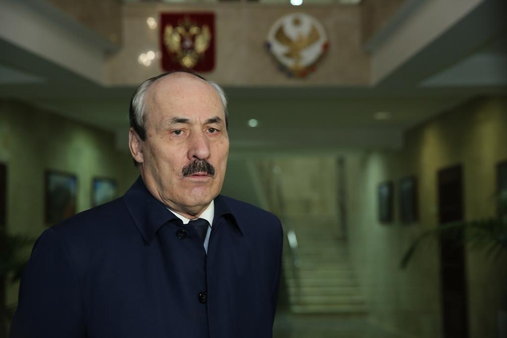 Глава Дагестана Рамазан Абдулатипов прокомментировал журналистам итоги встречи с Президентом России Владимиром Путиным